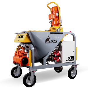 X5 Automatic Gypsum Spray Machine